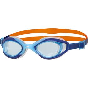 Zoggs Sonic Air 2.0 Goggles Kids, niebieski/pomarańczowy